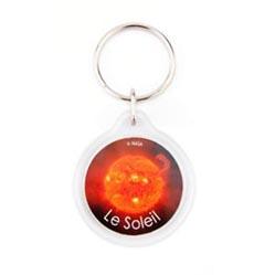 porte-clés rond acrylique cr-33