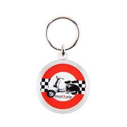 porte-clés rond acrylique cr-37