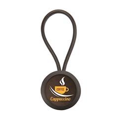 porte-clés rond acrylique LAZ-25